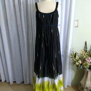 Calvin Klein size 10 Maxi sleeveless dress lined